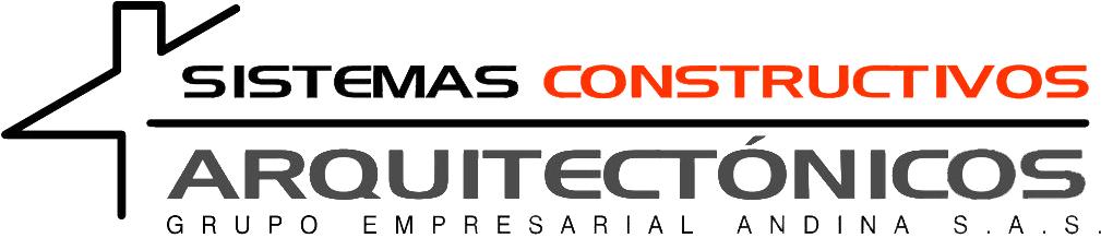 Logo Sistemas constructivos arquitectónicos - Grupo empresarial andina S. A. S.